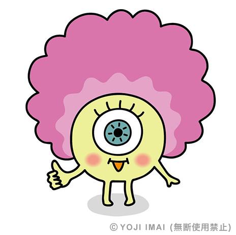目ディア キャラクター