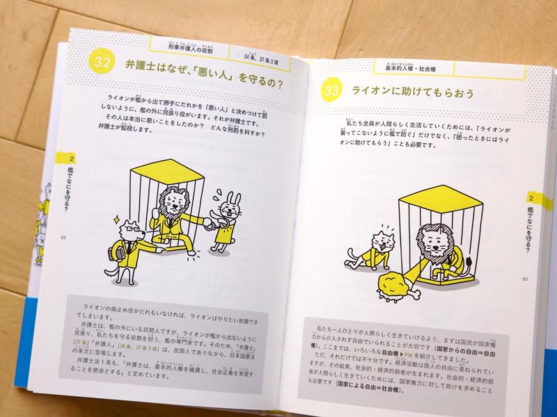 檻の中のライオン 本文カット