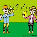 ZIP-FMキャンペーン用イラスト