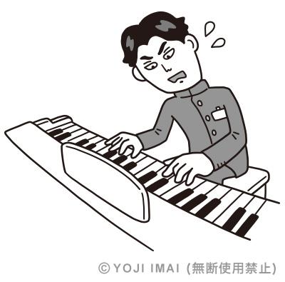 大前光市ピアノ練習