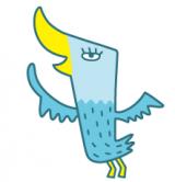 鳥のキャラクター